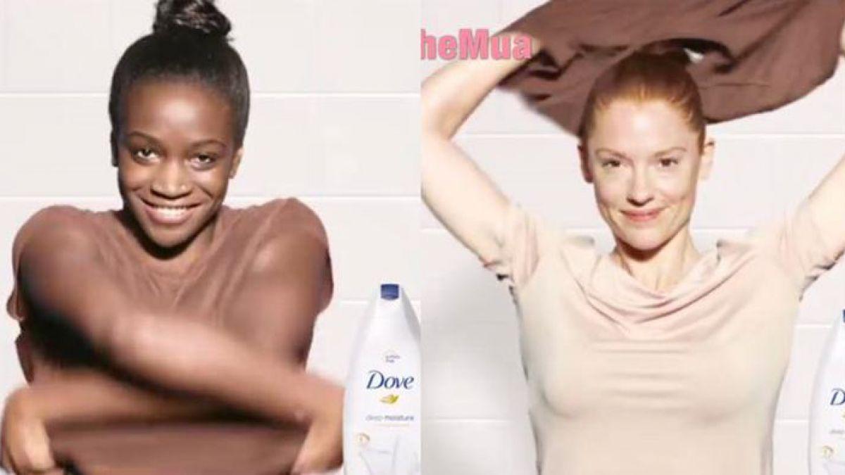 Polémica por una publicidad de Dove extremadamente racista