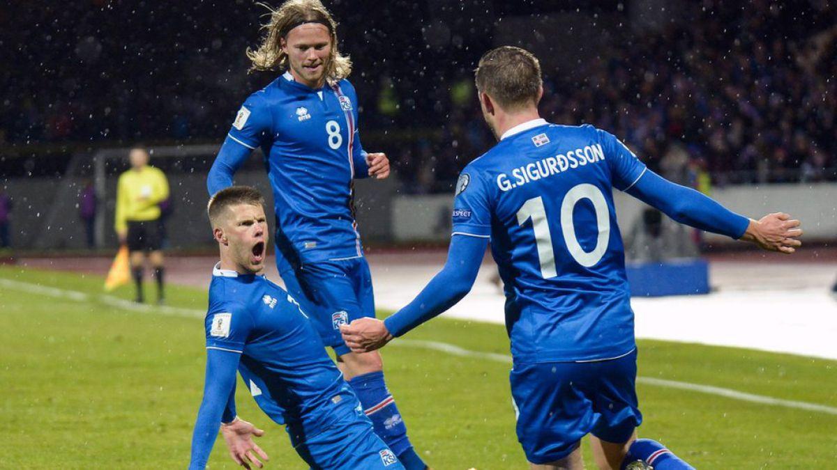 Islandia clasifica por primera vez en su historia a un Mundial de fútbol