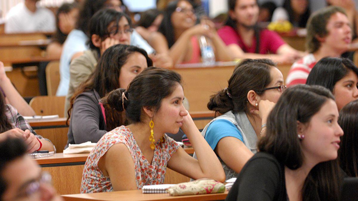 Estudiantes de la Universidad de Chile