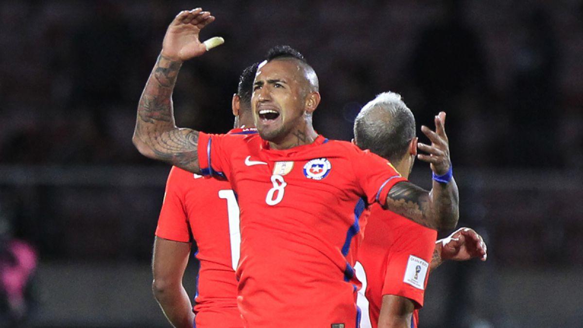 """Vidal echa pie atrás en su renuncia: """"Toda derrota tiene revancha, somos guerreros chilenos"""""""