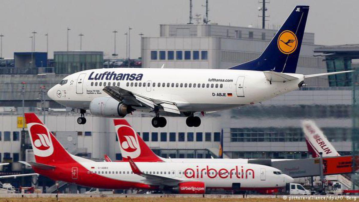 Resultado de imagen para air berlin lufthansa