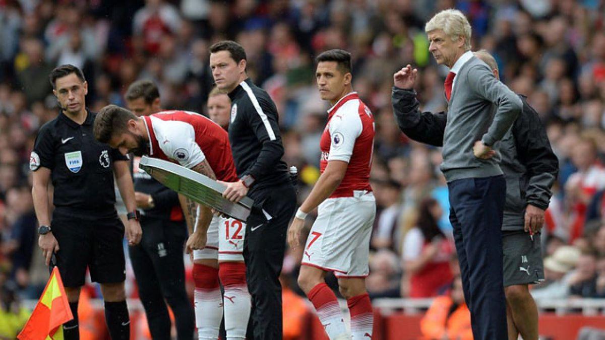 Wenger dijo que es posible que Alexis se vaya en enero
