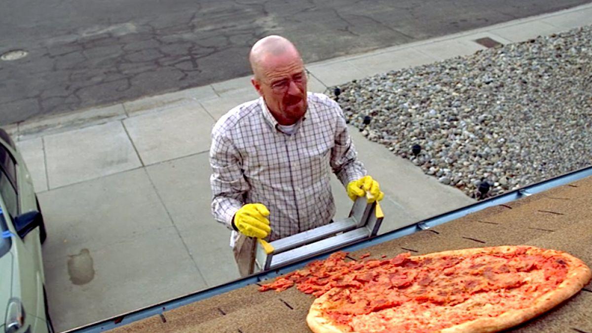 Valla anti-pizza en la casa de