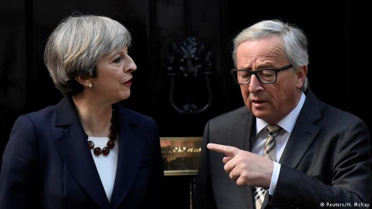 Primera ministra británica acuerda acelerar negociaciones del Brexit con la Comisión Europea