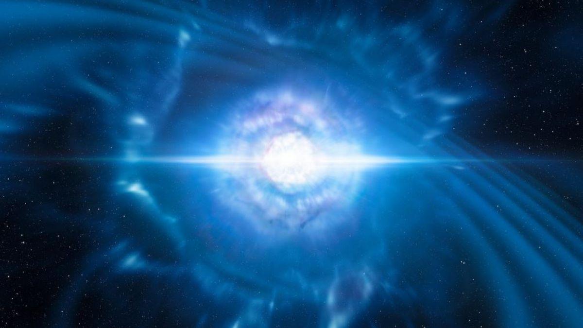 Detectaron las ondas generadas por el choque de estrellas de neutrones