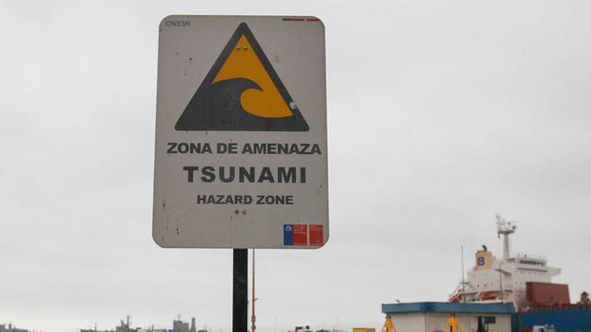 Onemi investiga error en activación de alarmas de tsunami en Antofagasta