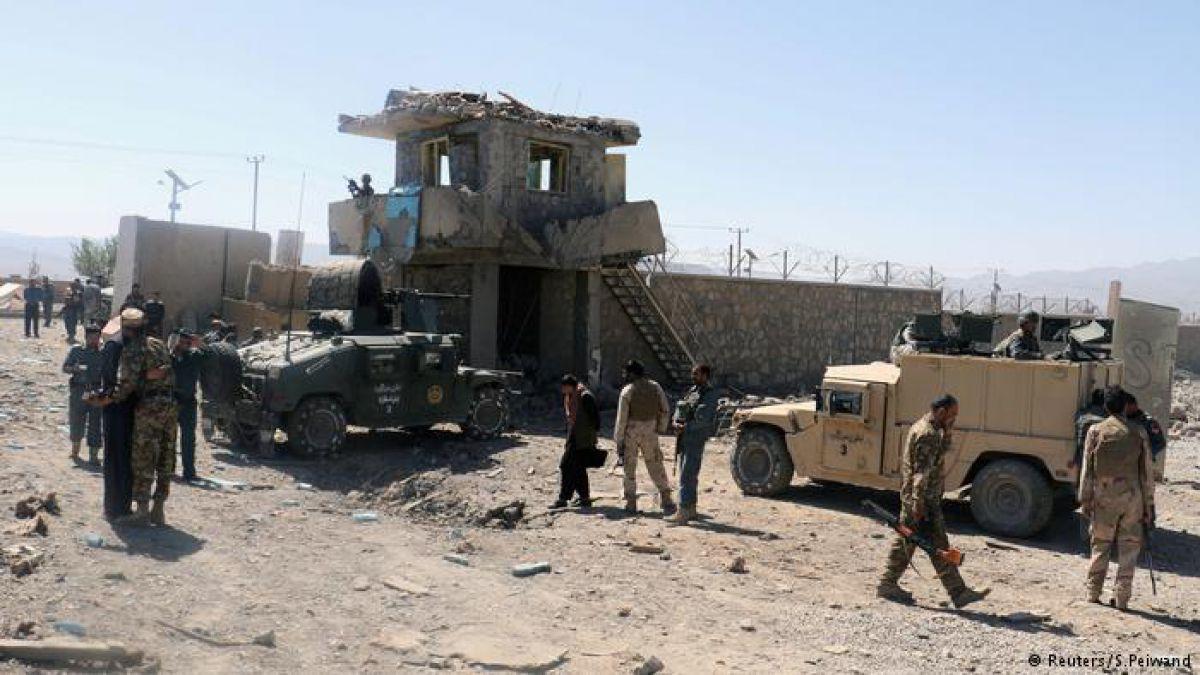 Ataque a sede de la policial en Afganistán deja 1515 muertos
