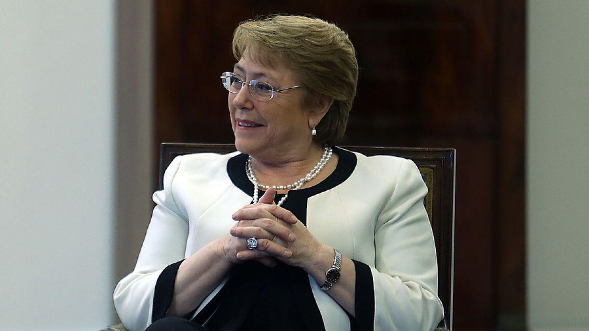 Presidenta Bachelet respondió a acusaciones de