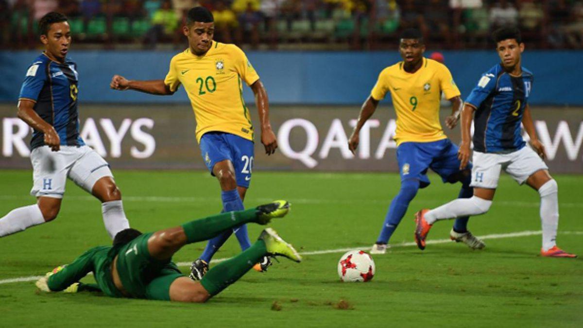 Brasil es el último clasificado a cuartos del Mundial Sub 17 y ahora enfrentará a Alemania