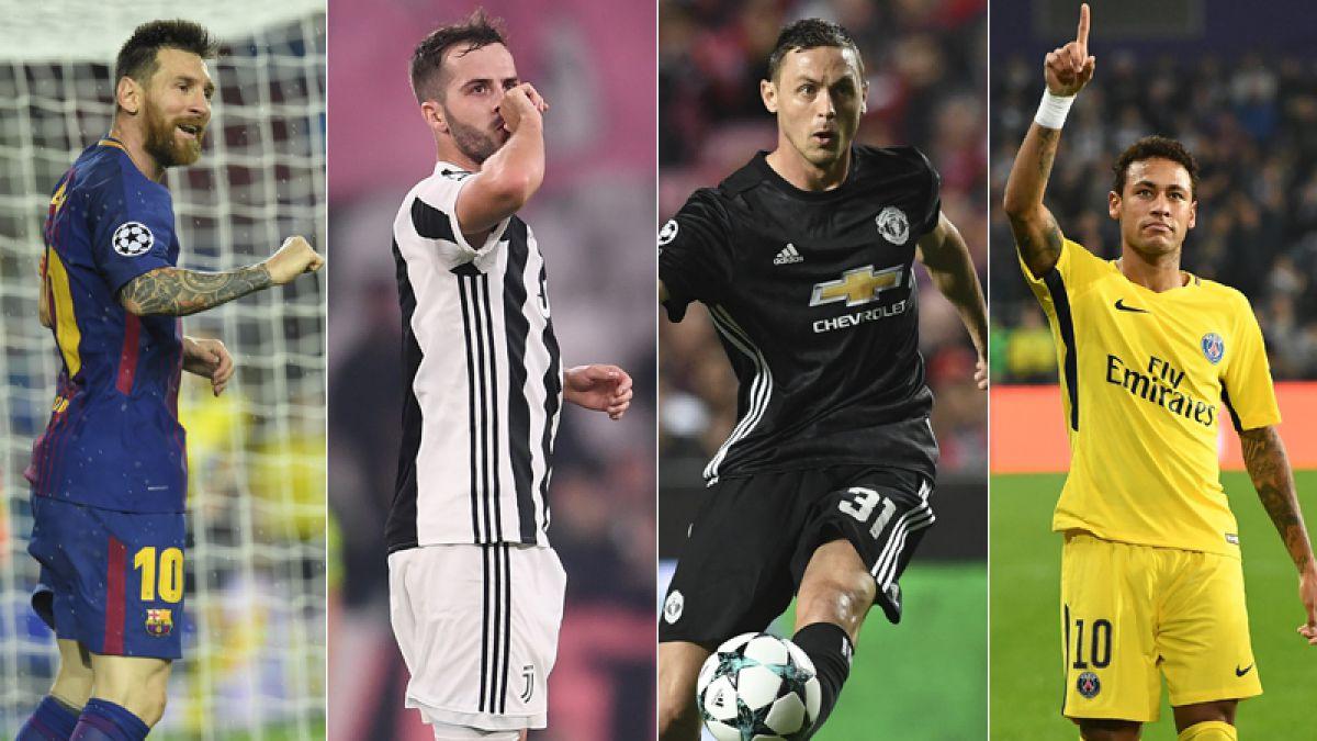 Barcelona, Juventus, Manchester United y PSG cumplen con triunfos en Champions League