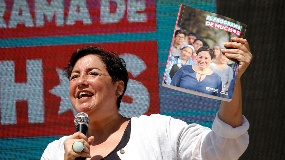 Urbano y de clase media-alta: así es el votante de Beatriz Sánchez según la CEP