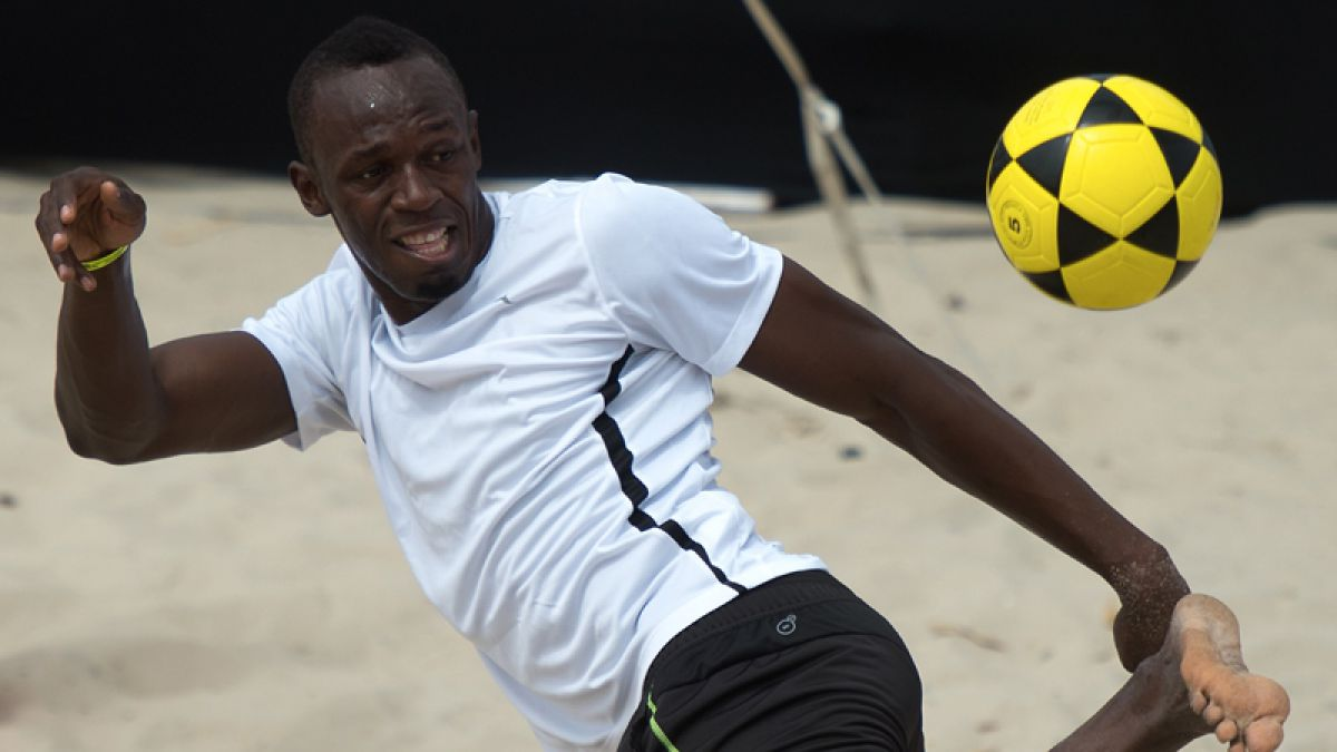Usain Bolt apunta a iniciar su carrera como futbolista profesional en Australia