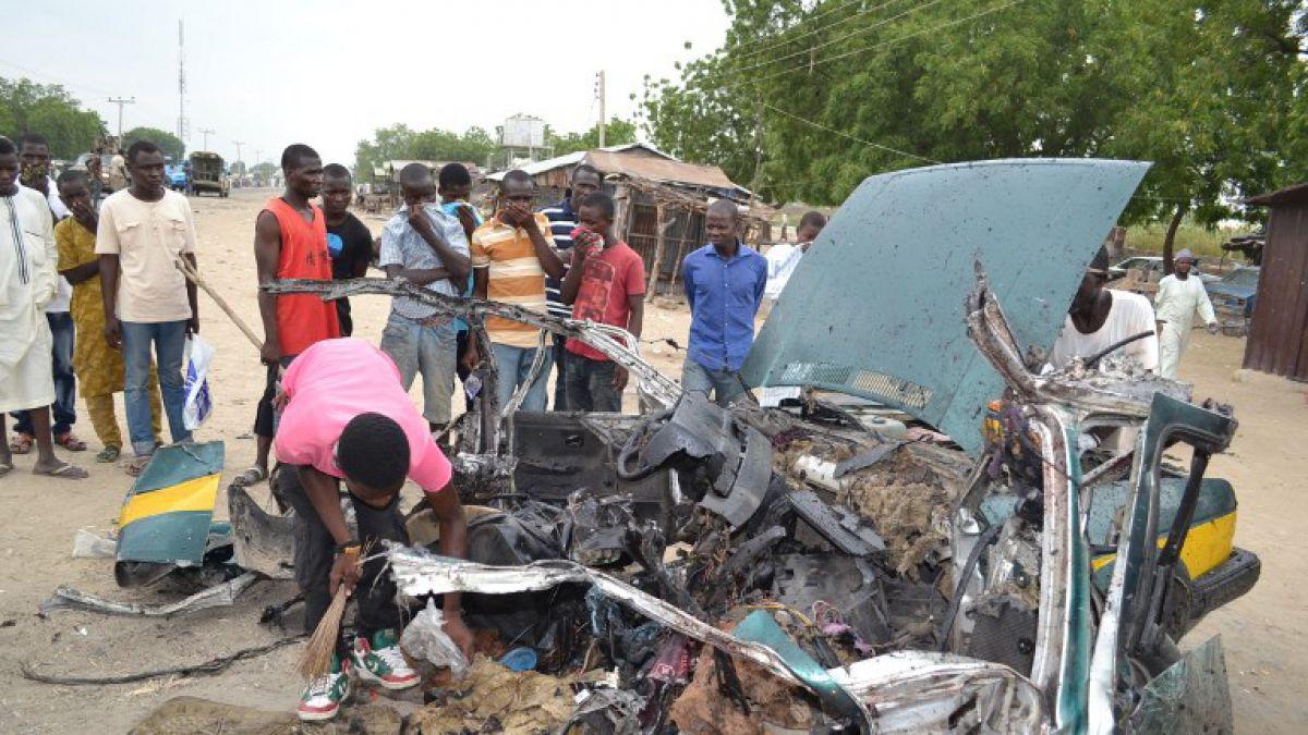 Triple atentado de mujeres kamikazes deja 13 muertos y 16 heridos en Nigeria