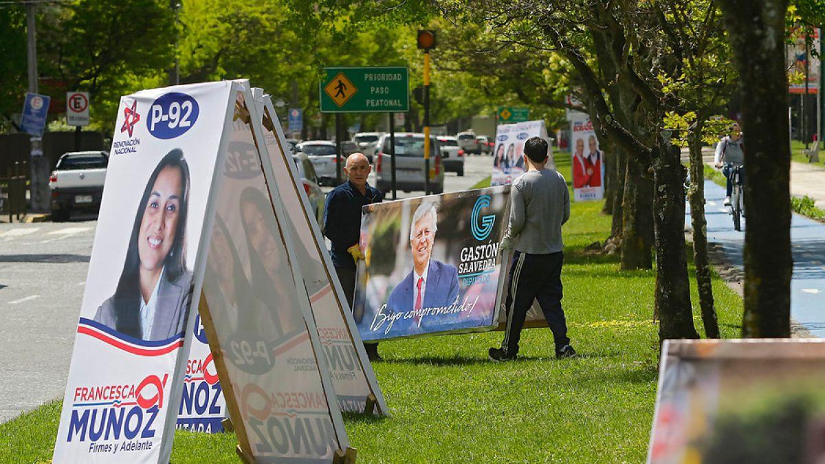 El viernes 20 de octubre comenzó el periodo de propaganda electoral