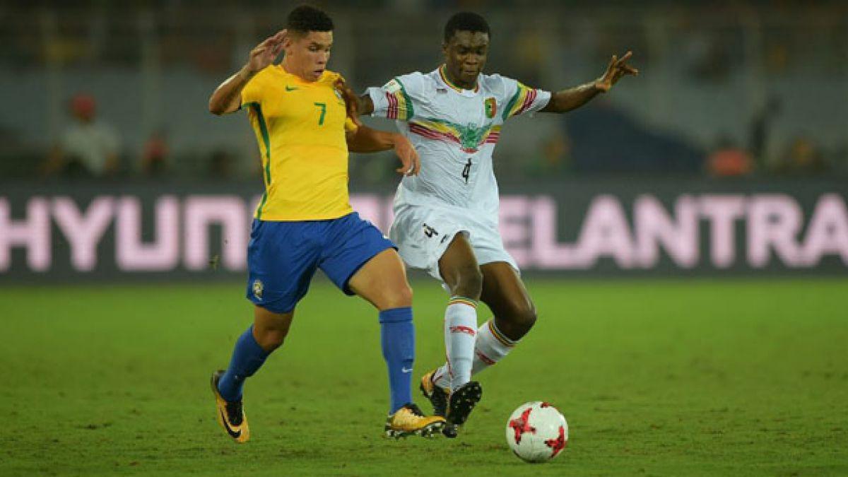 Brasil vence a Mali y se queda con el tercer lugar del Mundial Sub 17