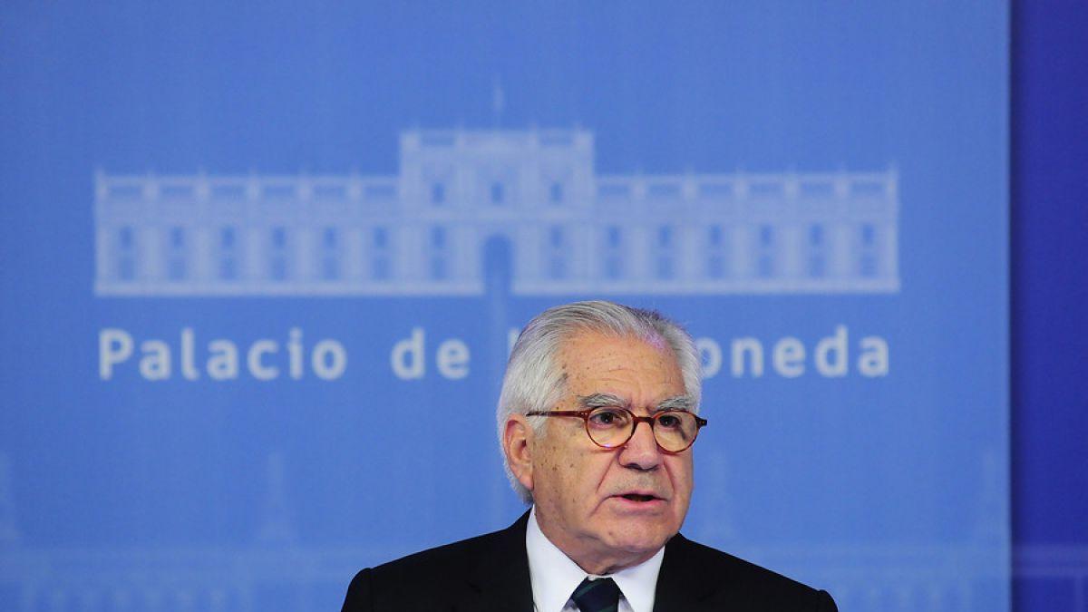 Ministro del Interior anunció reforma a Ley Antiterrorista ya prisión preventiva
