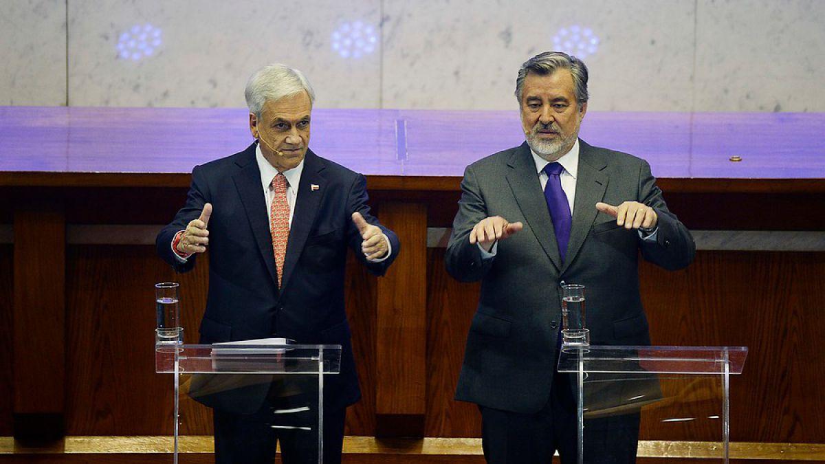 Piñera dobla a Guillier en intención de voto en primera vuelta — Cadem