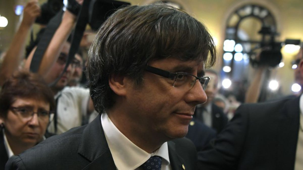 Puigdemont descarta declarar en Madrid y pide hacerlo en Bélgica