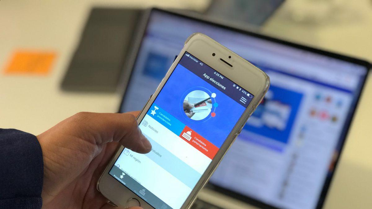 App Elecciones Chile 2017