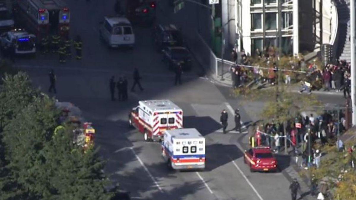 Confuso incidente en Nueva York deja, al menos, seis muertos
