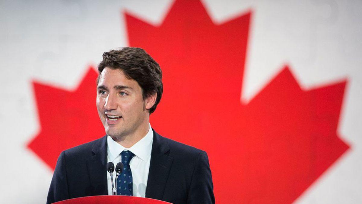¿Es un pájaro? ¿Es un avión?...No!!...Es Justin Trudeau
