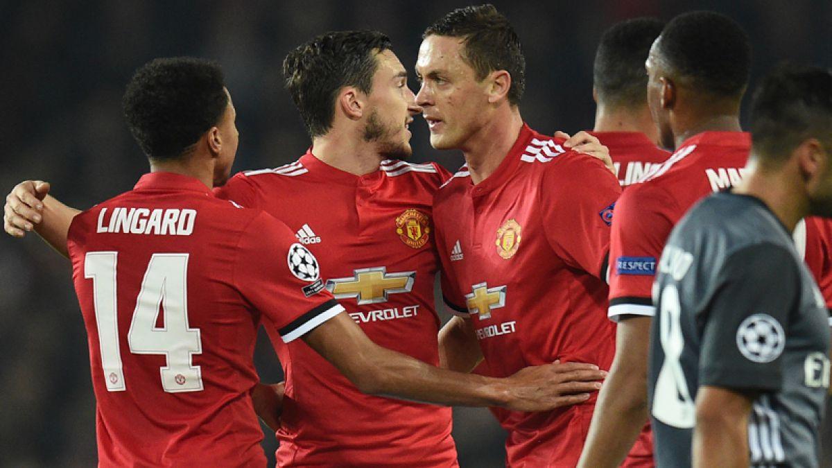 Manchester United gana mientras Juventus y Barcelona tropiezan en Champions