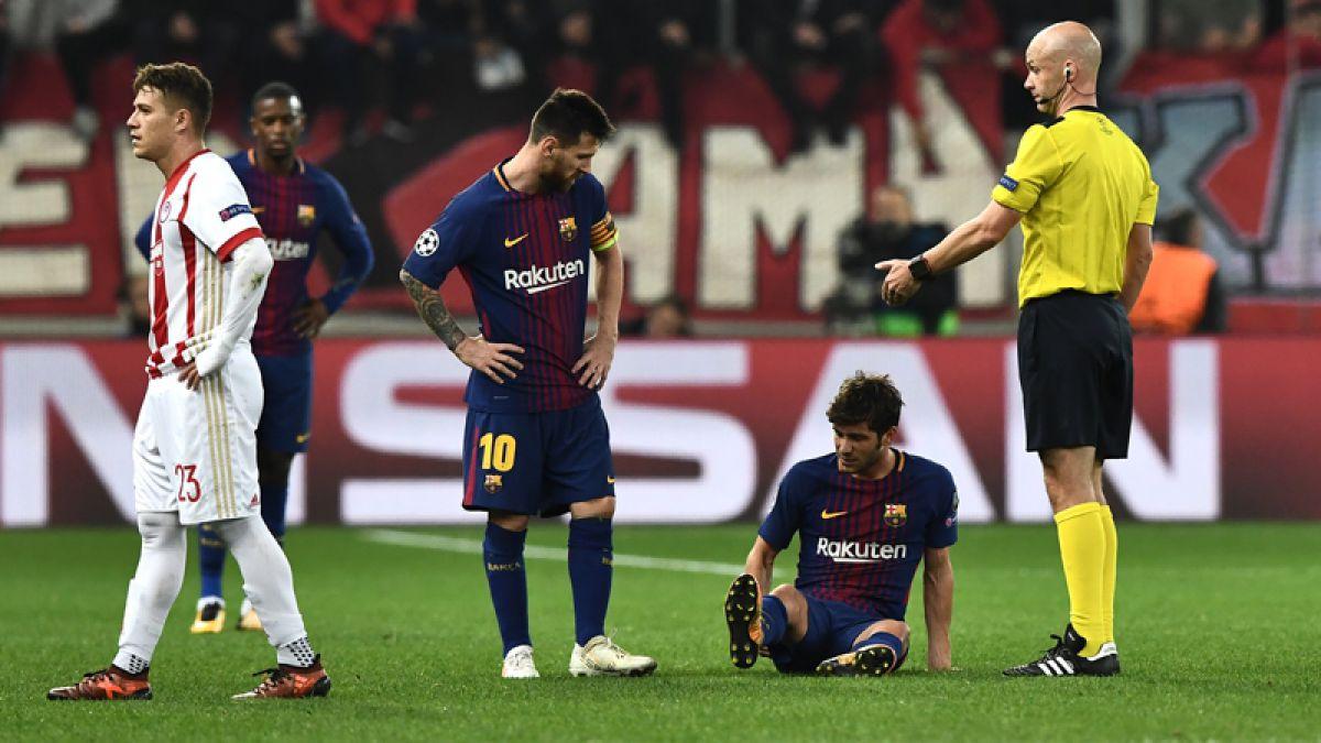 Barcelona pierde a dos figuras por al menos un mes debido a lesiones musculares