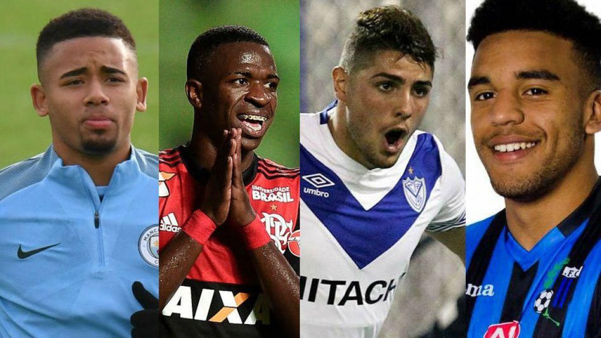 France Football  Los 4 prodigios latinoamericanos que dominarán el fútbol  en el futuro 69448d1607b3d