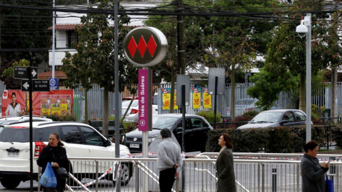 Reportan problemas en la Línea 6 del Metro de Santiago