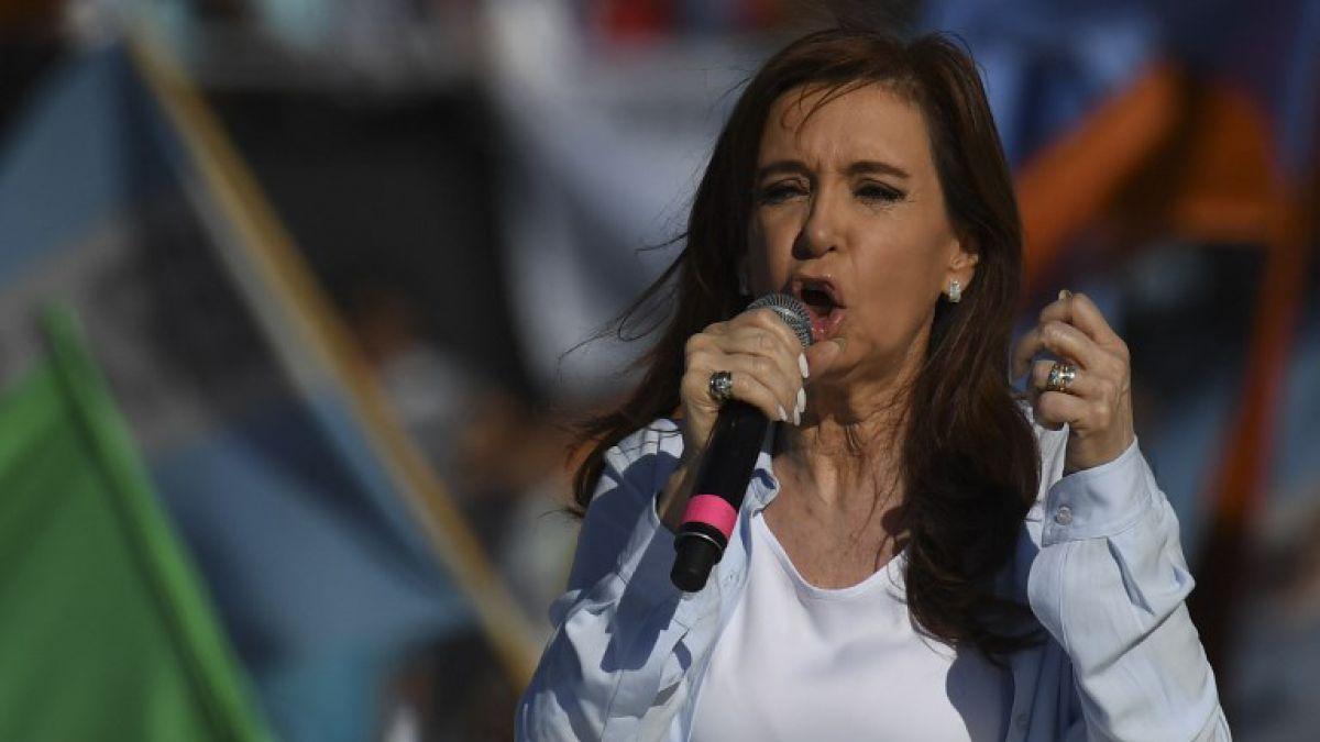 Cristina Fernández apunta a Macri y acusa operación política contra la oposición