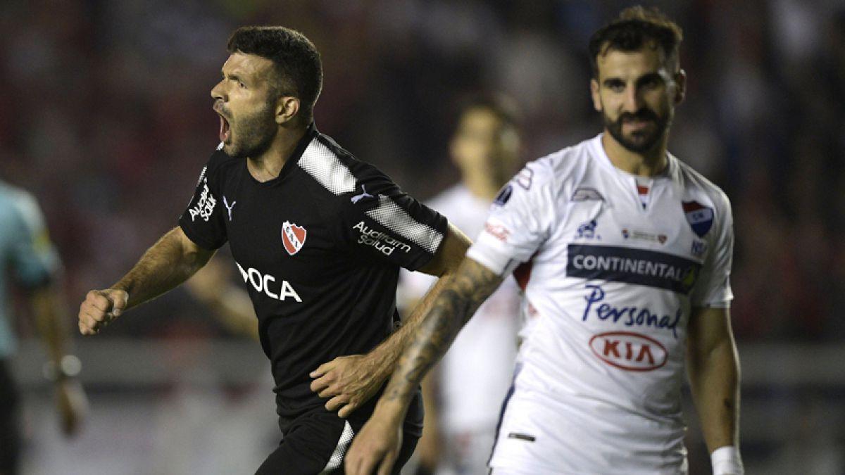 Independiente vence otra vez a Nacional de Paraguay y se mete en semis de Sudamericana