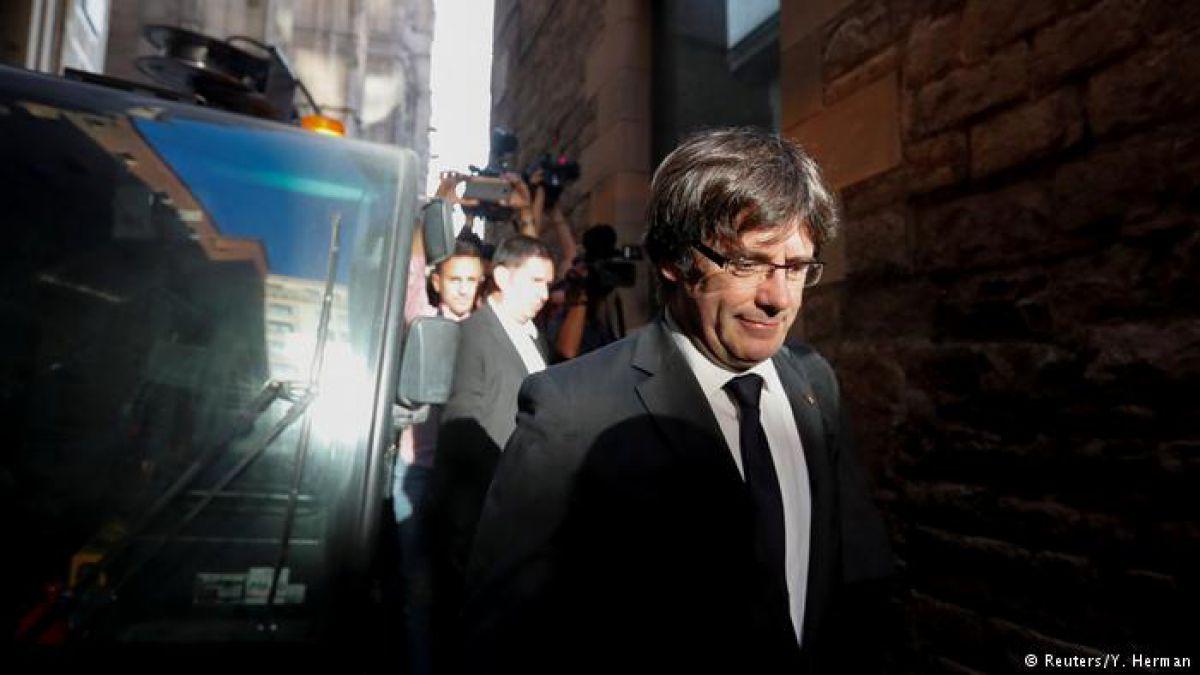Abogado de Puigdemont: emiten orden de arresto contra el expresidente de Cataluña