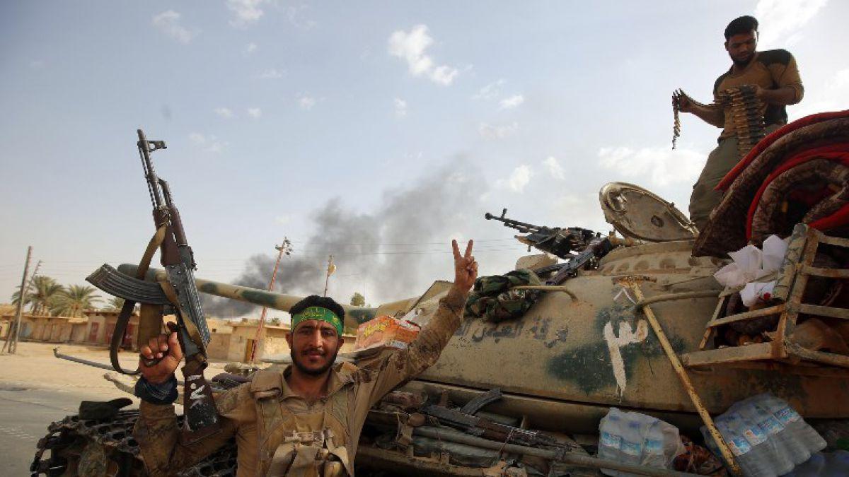 Las fuerzas iraquíes arrebatan la localidad de Al Qaim, último bastión del Estado Islámico en Irak