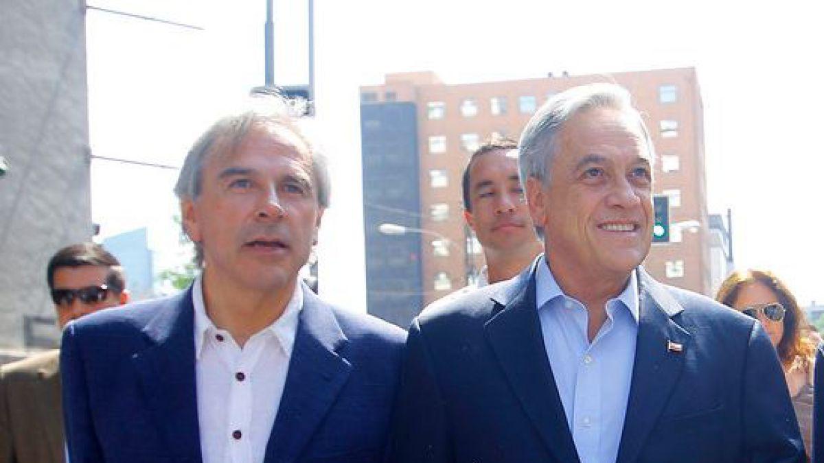 Piñera respalda a Moreira: Espero que en el juicio pueda probar su inocencia
