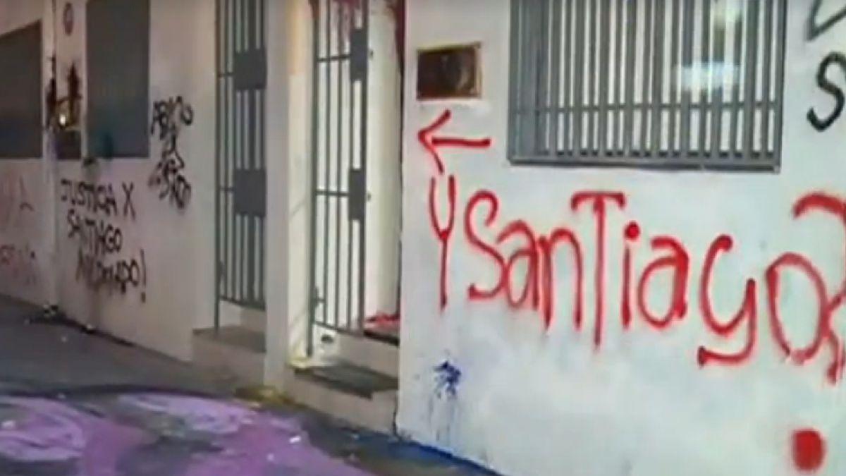 Policía chilena busca a manifestantes por caso Santiago Maldonado