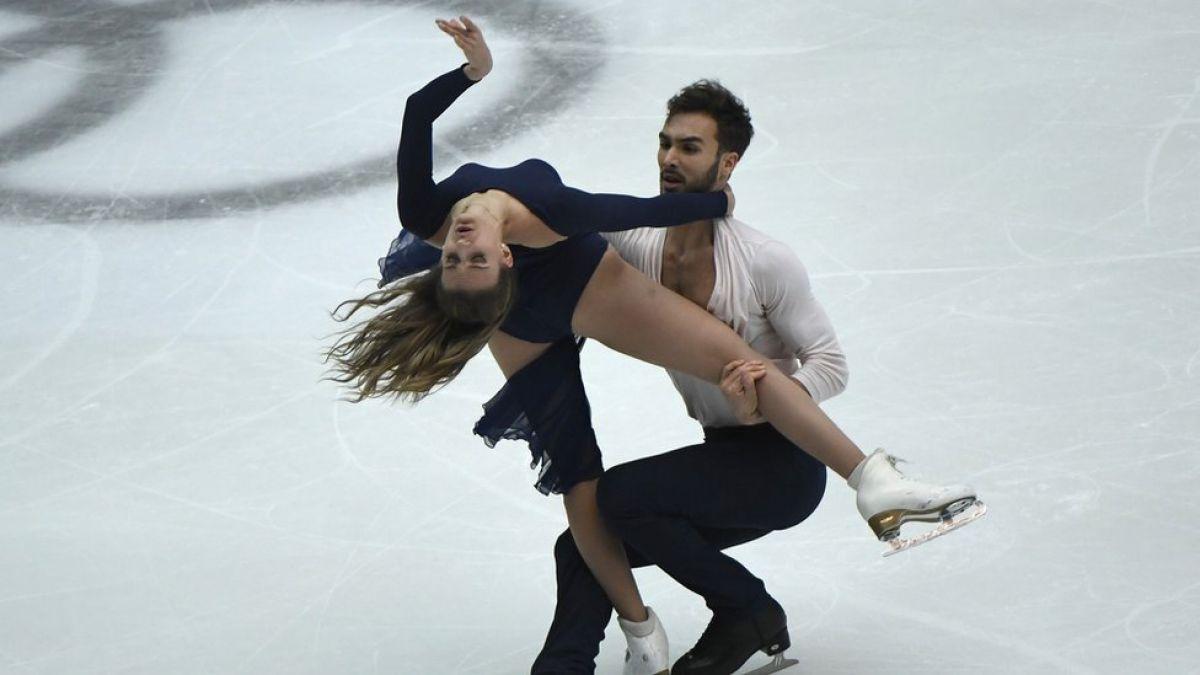La pareja de Francia que hizo historia al romper la barrera de los 200 puntos en patinaje artístico