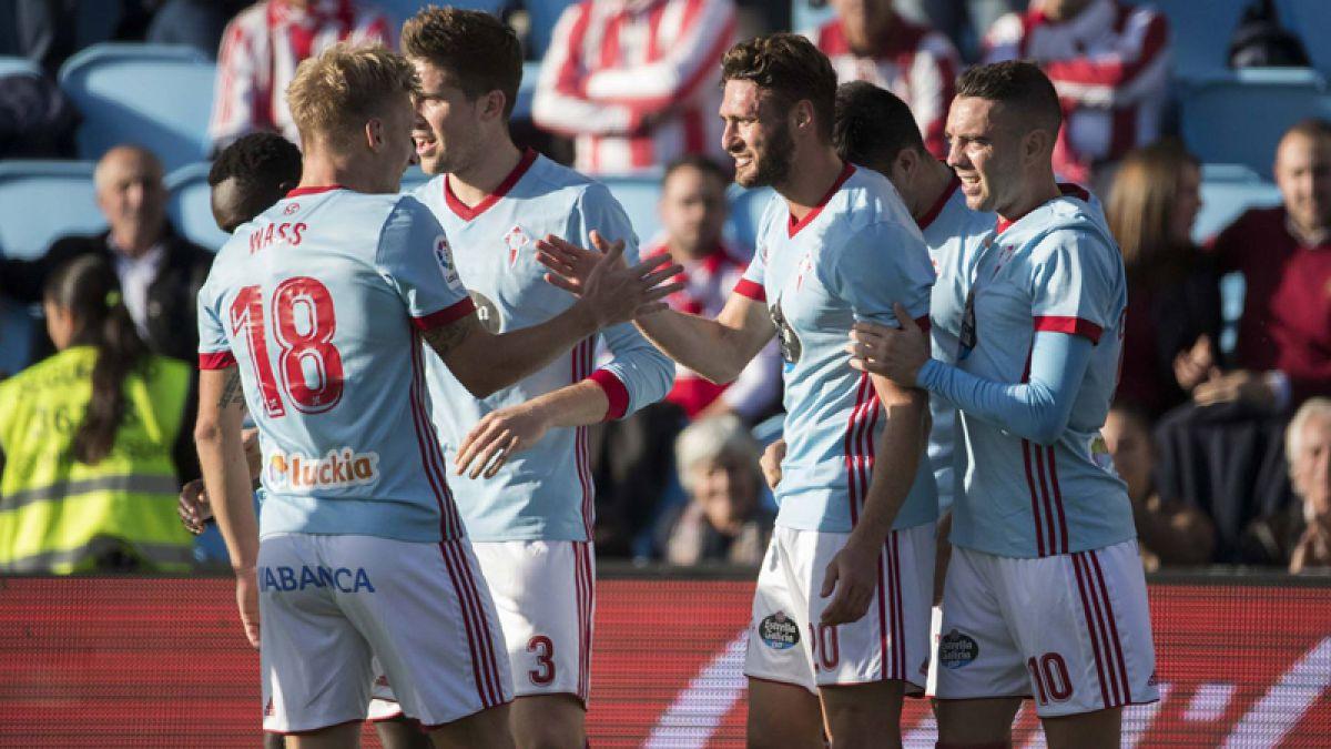 Celta de Vigo con Pedro Pablo Hernández derrota al Athletic de Bilbao en España