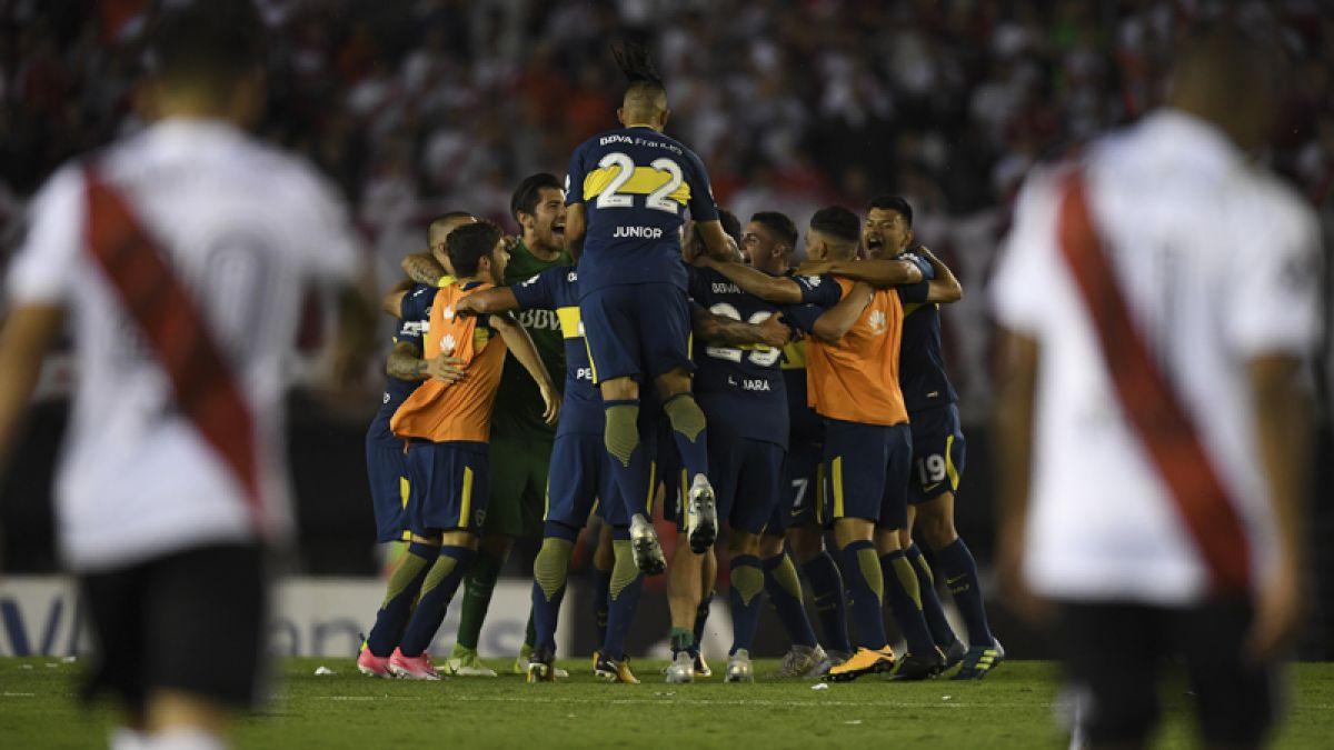 Boca Juniors vence como visita a River Plate en el superclásico del fútbol argentino