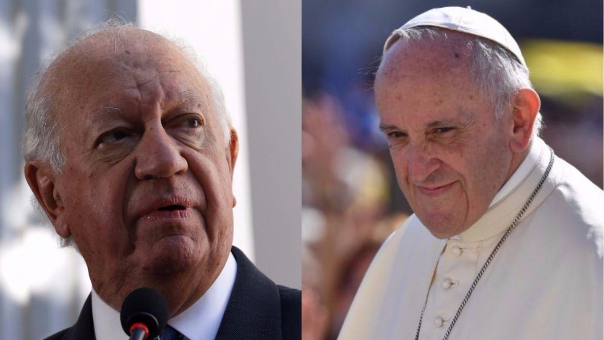 Papa Francisco recibe a Ricardo Lagos en el Vaticano