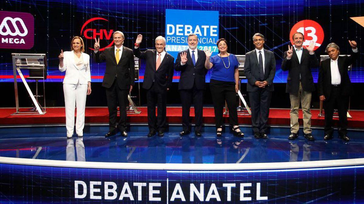 Duros emplazamientos entre ME-O, Guillier y Piñera marcan último debate presidencial