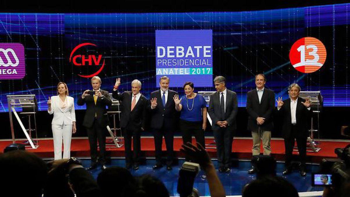 Debate Anatel: 10 frases que marcaron el último enfrentamiento de los candidatos presidenciales