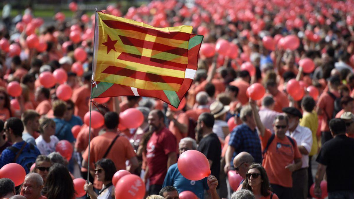 Gure Esku Dago, movimiento que quiere replicar en el País Vasco el proceso independentista catalán
