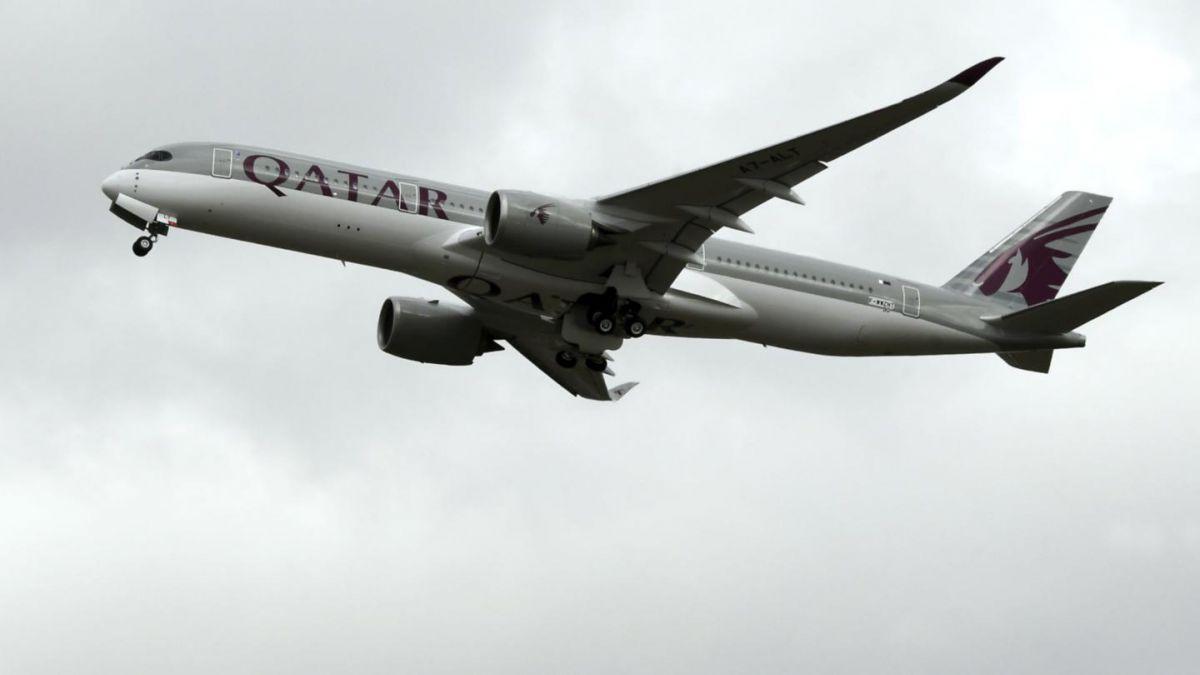 Escándalo a bordo provocó aterrizaje de emergencia de Qatar Airways