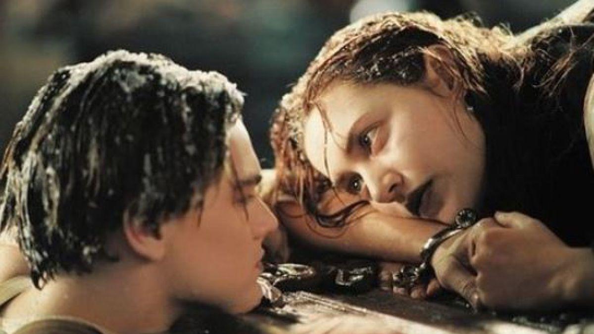 trágicas parejas de películas Jack y Rose en Titanic