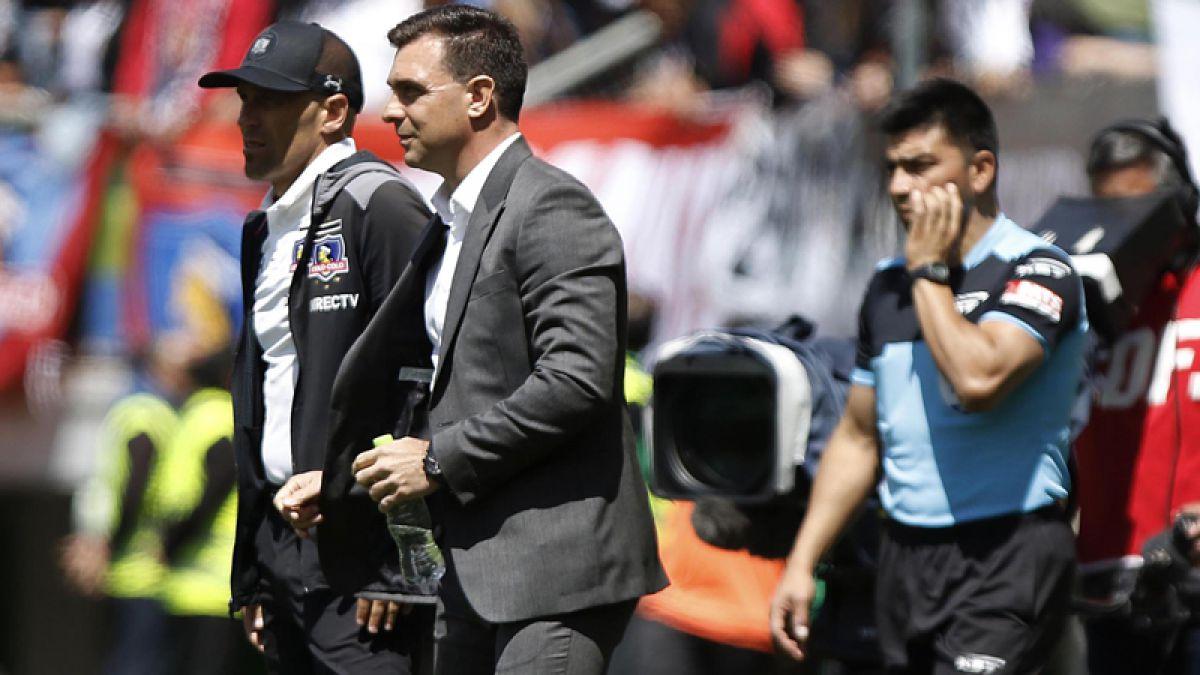 ANFP sanciona con un partido a Pablo Guede tras los incidentes en Temuco