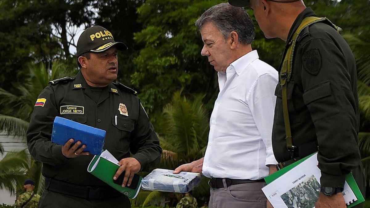 Autoridades colombianas realizan la mayor incautación de cocaína de la historia del país