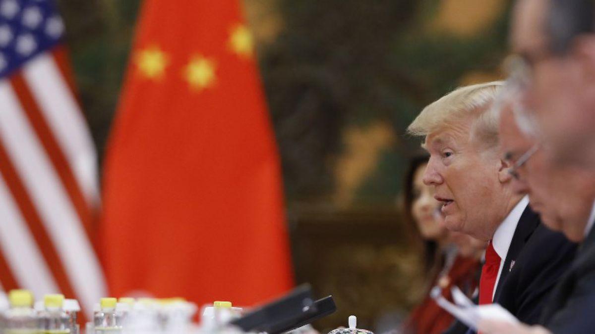 Trump en China