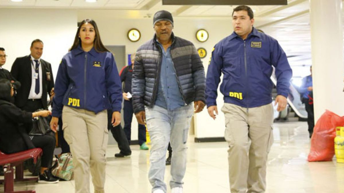 Niegan ingreso a Chile de Mike Tyson por incumplir Ley de Extranjería