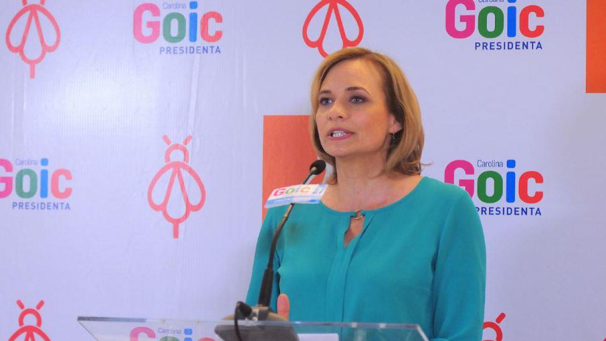 Goic arremete contra Piñera por amenaza a funcionarios públicos