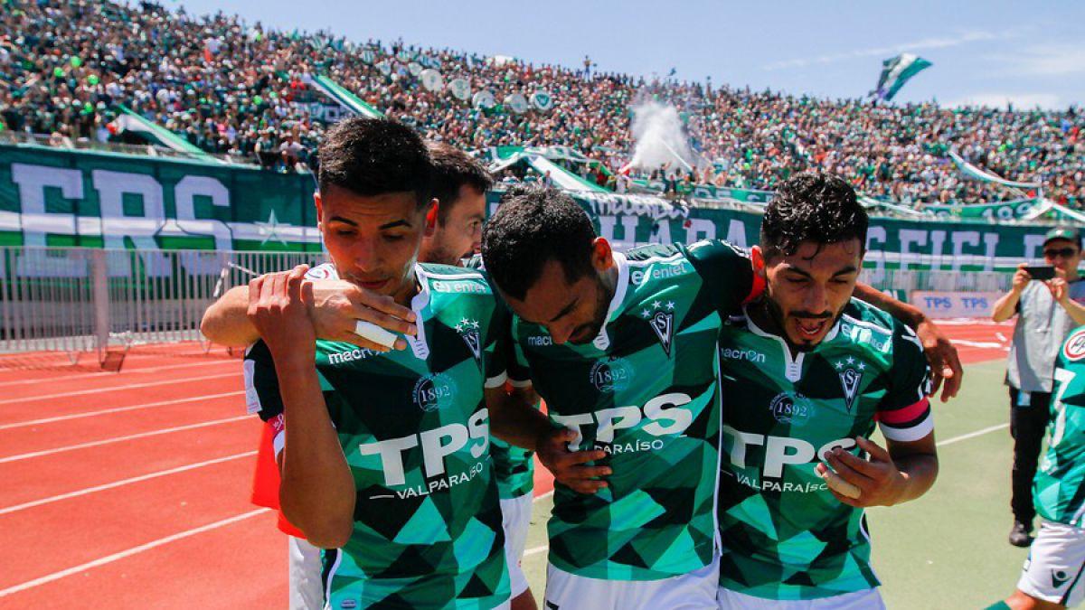 Santiago Wanderers también sabe festejar en finales